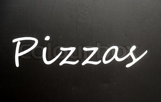 Pizzas poster