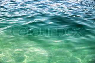 Coastal Adriatic sea water background texture