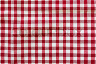 Fabric background tablecloth