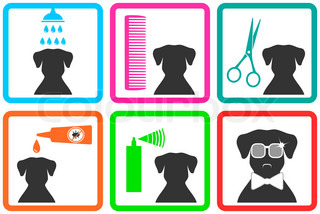 pet care icons