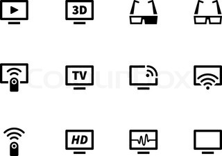 widescreen monitor with Tv Icons On White Background Vector Illustration Vector 7498724 on Battery Pencil Protection Shield Icons Dialog 454419076 likewise Monitor Isolated On White 352288061 likewise Frontal View Of Widescreen Led Or Lcd Inter  Tv Monitor Isolated On White 17792 further Tv also Lcd.