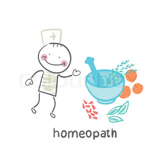 homeopath medicine prepared from plants
