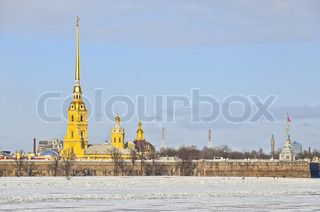 The Peter and Paul Fortress, Saint Petersburg, Russia