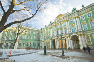 Petersburg Russland March 2 The Stockfoto Colourbox