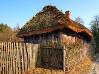 Traditional polish wooden cottage barn in a small village in poland stock photo colourbox - Traditional polish houses wood mastership ...