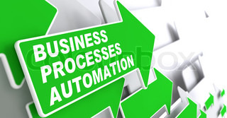 Business Processes Automation Concept