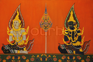 Thai Art, Wall Painting