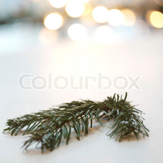 Image of 'christmas, branch, branches'