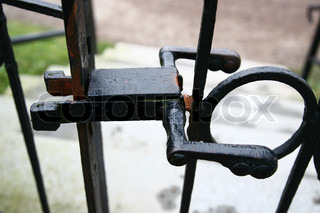 Image of 'gate, iron, scandinavia'