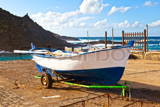 Old Rowboat in Garachico, Tenerife