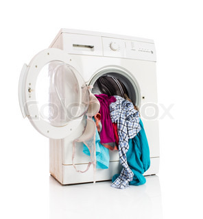 how to get my clothes out of the washing machine