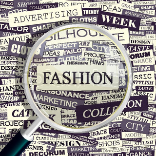 Fashion Concept Related Words In Tag Cloud Conceptual Info Text Graphic Word Collage