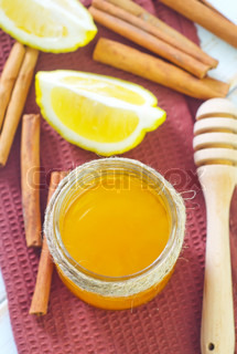 honey and lemon