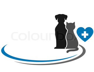 veterinary symbol with blank place