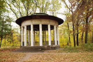 Antique gazebo