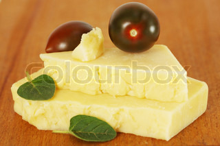 cheese with small tomatoes