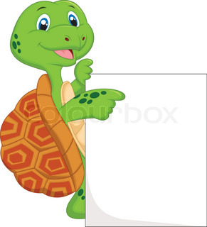 how to draw a cartoon turtle standing up