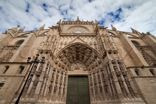 Seville Cathedral West Facade