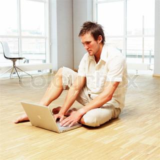 Image of 'computer, person, scandinavian'