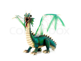Image of 'dragon, toy, toys'