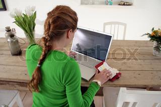 Image of 'work, laptop, internet'