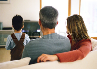 Image of 'tv, watching, parents'