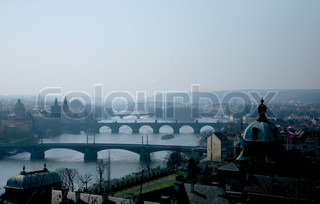 Image of 'prague, cities, river'