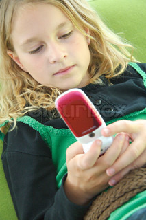 Image of 'girls, child, sms'