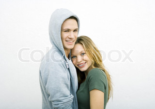 Image of 'teen, blonde, couple'