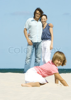 Image of 'beach, game, holiday'