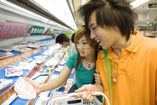 Image of 'japanese, teens, shopping'
