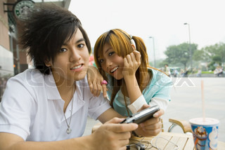 Image of 'japanese, teenagers, playstation'
