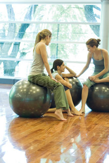Image of 'ball, exercise ball, inside'