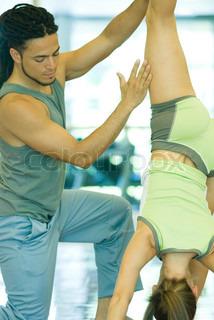 Image of 'yoga, gymnastics, indoor'