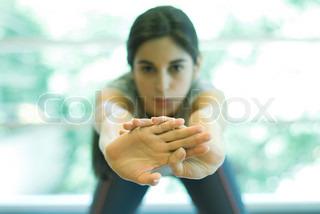 Image of 'gymnastic, brunette, ladies'