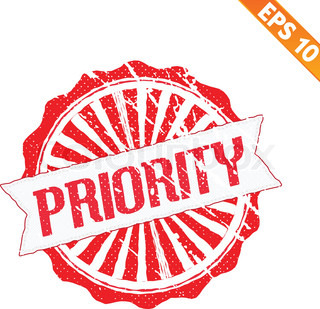 how to set high priority
