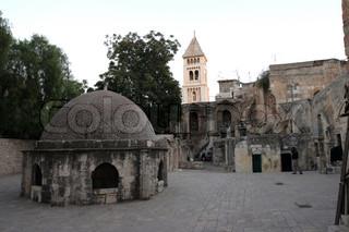 Ethiopian monastery,church of the Holy Sepulchre, Jerusalem, Israel