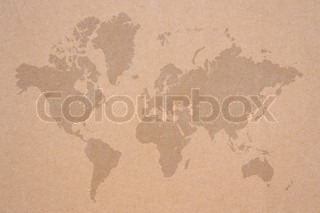 old paper map background