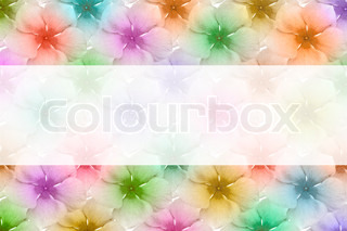 colorful flower paper