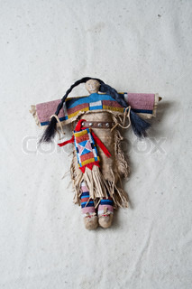 american indian historical culture puppet object