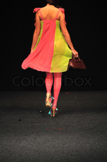 fashion show woman