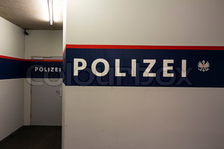 police guard room in austria