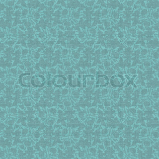 vector vintage turquoise floral seamless pattern