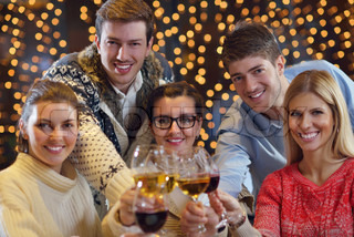 Image result for images of happy people drinking wine