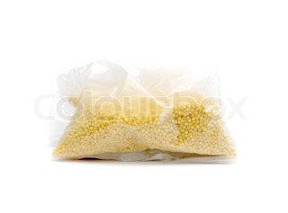 millet grain in the package