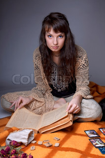 Girl who read the cards