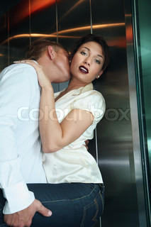 Image of 'sex, couple, elevator'