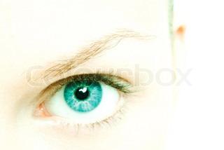 Image of 'eye, macro, close up'