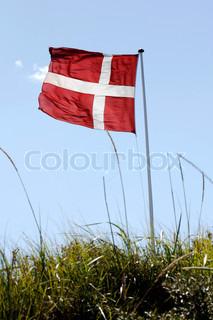 Bild von 'skandinavisch, sommerlich, dänische Flagge'