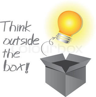 thinking outside the idiot box To think creatively, we need to step outside the framework of what we  some  realy great tips on helping someone to think outside of the box.